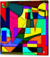Abstract 2 Acrylic Print