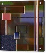 Abstract 2964 Acrylic Print
