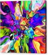 Abstract 373 Acrylic Print