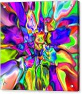 Abstract 376 Acrylic Print