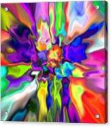 Abstract 379 Acrylic Print