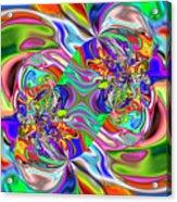 Abstract 389 Acrylic Print