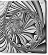 Abstract 527 Bw Acrylic Print
