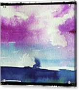 Purple Sky's  Acrylic Print