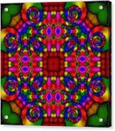 Abstract 652 Acrylic Print