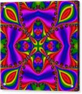 Abstract 663 Acrylic Print