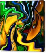 Abstract 7-10-09 Acrylic Print