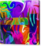 Abstract 7d Acrylic Print