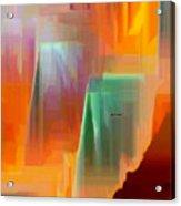 Abstract 9364 Acrylic Print