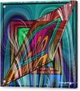 Abstract 9554 Acrylic Print