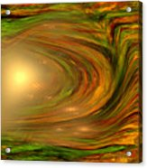 Abstract Art -the Core By Rgiada Acrylic Print