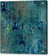 Abstract Back Cover Design  Acrylic Print