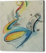 Abstract Bass Acrylic Print