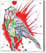 Abstract Bird 002 Acrylic Print
