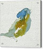 Abstract Bird Singing Acrylic Print