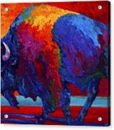 Abstract Bison Acrylic Print