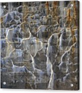 Abstract Bleeding Concrete Acrylic Print