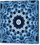 Abstract Blue 16 Acrylic Print