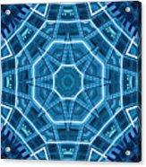 Abstract Blue 18 Acrylic Print