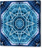 Abstract Blue 20 Acrylic Print
