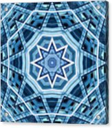 Abstract Blue 22 Acrylic Print