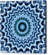 Abstract Blue 25 Acrylic Print