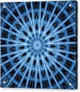 Abstract Blue 28 Acrylic Print