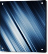 Abstract Blurred Dark Blue  Background Acrylic Print