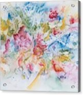 Abstract Bouquet Acrylic Print