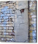 Abstract Brick 4 Acrylic Print