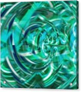 Abstract Brutality The Vortex Acrylic Print