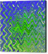 Abstract By Photoshop 50 Acrylic Print