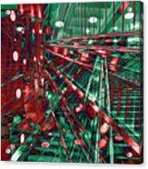 Red Berlin Sound Acrylic Print