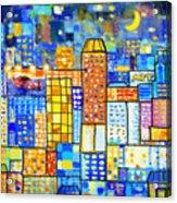 Abstract City Acrylic Print