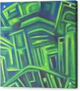 Abstract Cityscape Series IIi Acrylic Print