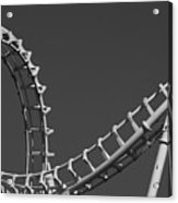 Abstract Coaster Panoramic Acrylic Print