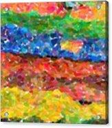 Abstract Color Combination Series - No 8 Acrylic Print