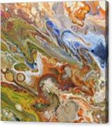 Abstract Colour Acrylic Print