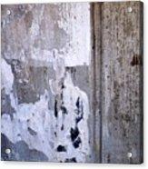 Abstract Concrete 6 Acrylic Print