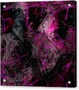 Abstract Crystal - Cg Render Acrylic Print