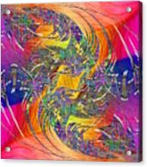Abstract Cubed 314 Acrylic Print