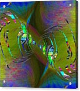 Abstract Cubed 361 Acrylic Print