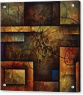 abstract design  A Acrylic Print