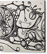 Abstract Drawing Acrylic Print