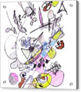 Abstract Drawing Seventy-two Acrylic Print