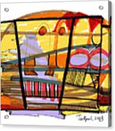 Abstract Drawing Sixty-seven Acrylic Print