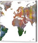Abstract Earth Art Acrylic Print