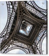 Abstract Eiffel Tower Looking Up 2 Acrylic Print