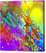 Abstract Eight-chroma Acrylic Print