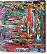 Abstract Expressionism Bvdschueren Acrylic Print
